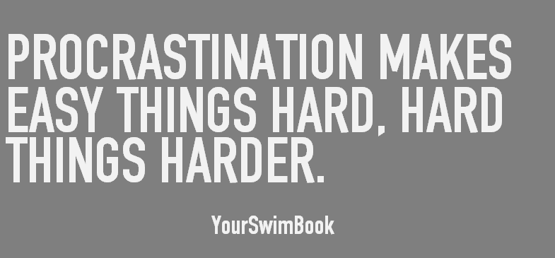 Procrastination Makes Easy Things Hard