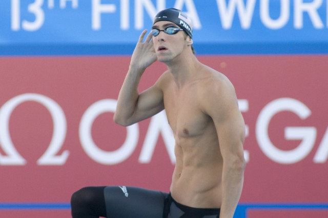 Swimmers At St Petersburg Pool Swim Next To Phelps And Nbac Squad Video