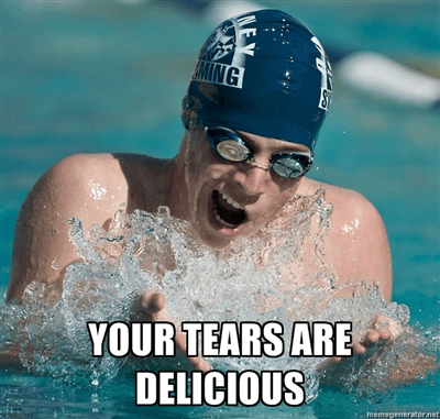 Meme Tears Swimmer