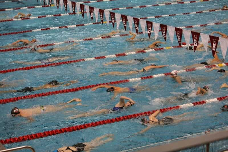 Swimming Meet Warm Up