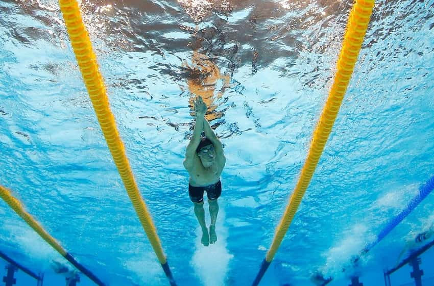 Distance Swimmers Should Use Weight Training To Develop Muscle Balance