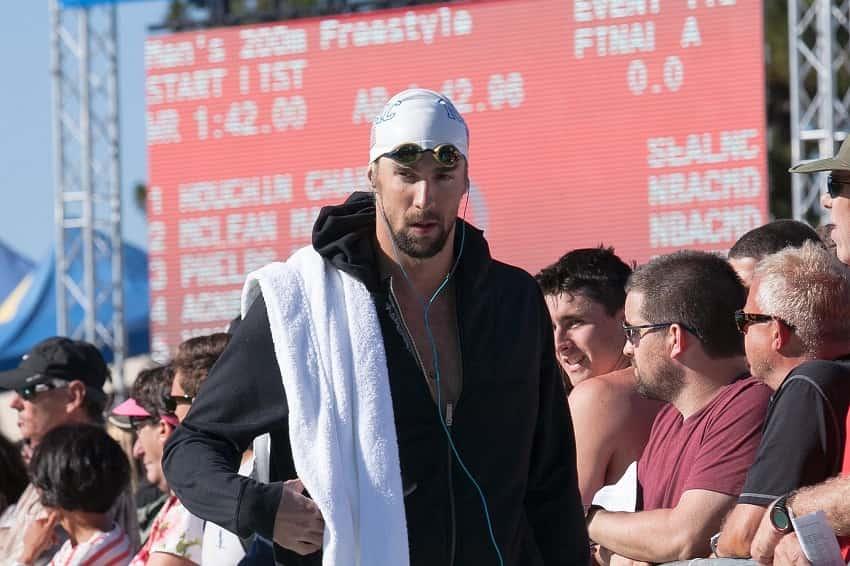 Phelps vs Hackett Training
