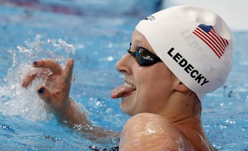 Katie Ledecky's Greatest Talent is Her Work Ethic