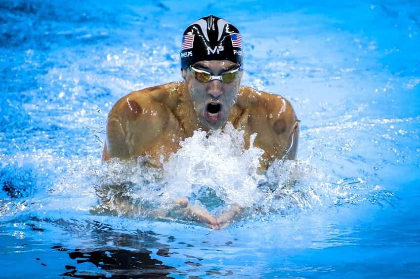 Swimming breast stroke technique