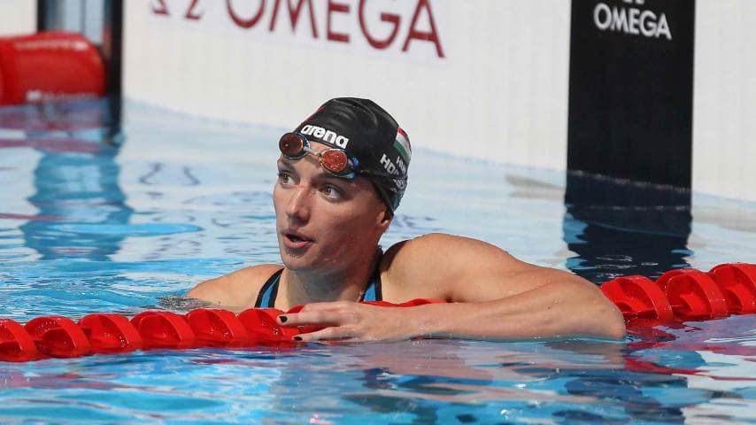 400m IM World Record Katinka Hosszu