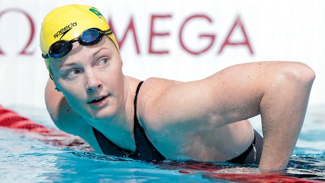 4x100 freestyle world record Cate Campbell