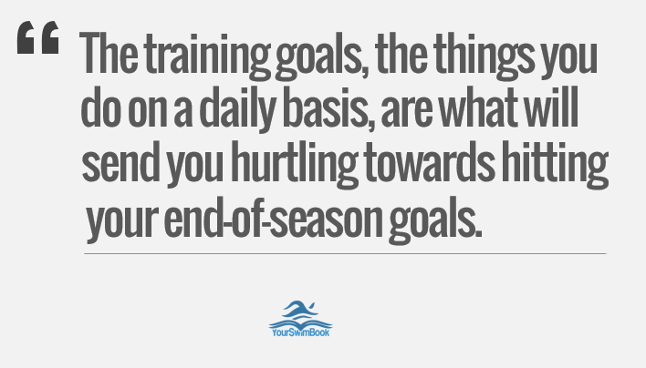 Your Daily Training Goals Are What Will Help You Succeed