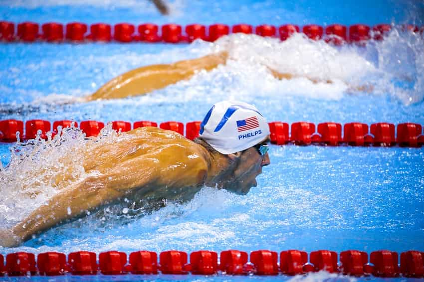 Michael Phelps Butterfly Set Training