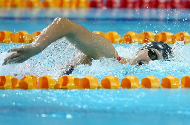 How Katie Ledecky Took Her Training To the Next Level