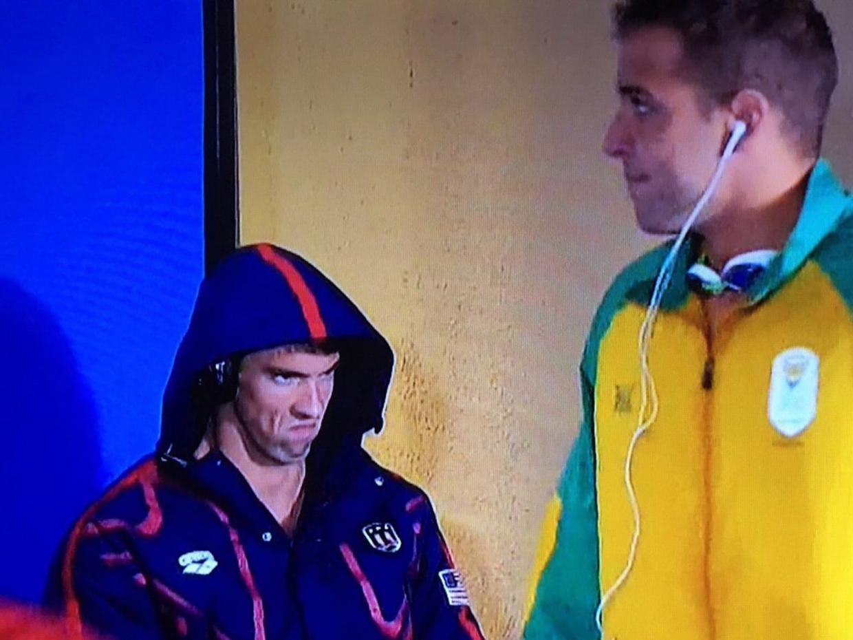 PhelpsFace Is Taking The Internet By Storm