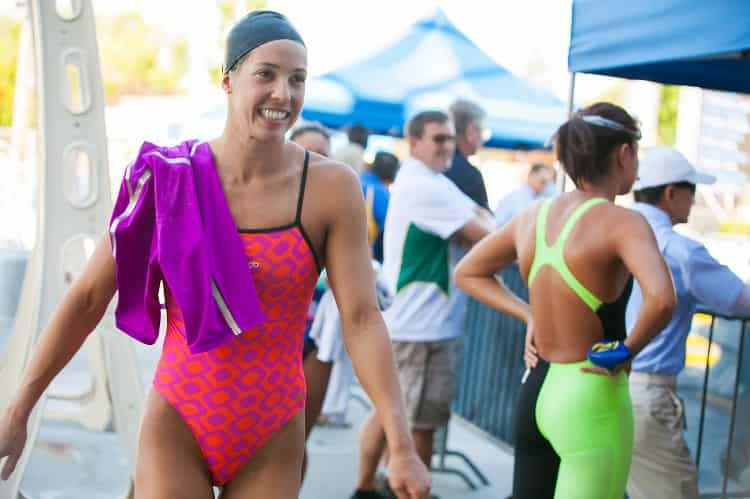 Top Female Swimmers Maya DiRado