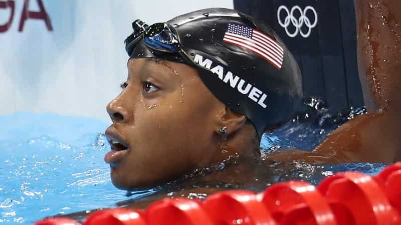 Top Female Swimmers Simone Manuel