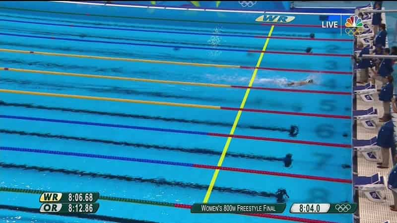 Top Swimmers in the World Katie Ledecky 800 Freestyle
