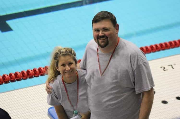 Coach Michael Chapman Boonville Aquatic Dolphins