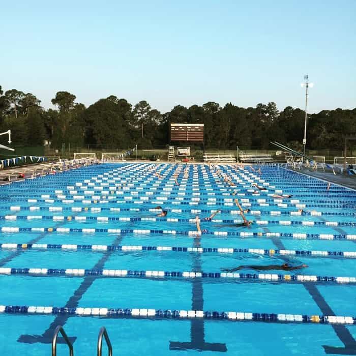 The Seminole Aquatics Kick Set: Race Hard, Kick Fast