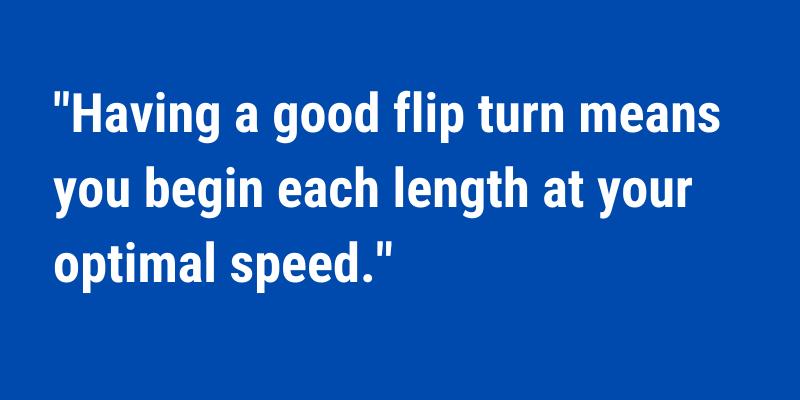 How to Improve Swimming Flip Turns