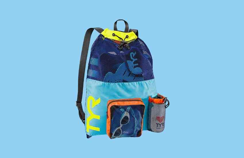 TYR Big Mesh Mummy Swim Backpack