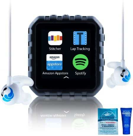 Delphin Micro Tablet Waterproof Spotify Player for Swimming