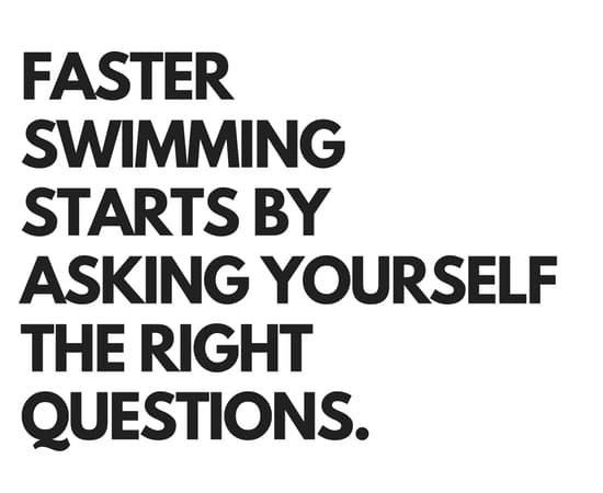 3 Questions to Maximize Your Mindset in the Pool