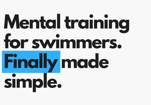 mental training book for swimmers