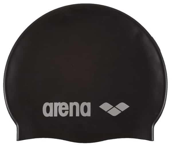 8bfedf39239 Arena Classic Silicone Swim Cap Black