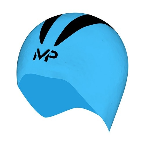 MP Michael Phelps X-O Competition Swim Cap Blue-Black