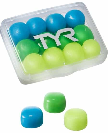 TYR Kids Soft Silicone Earplugs for Swimmers