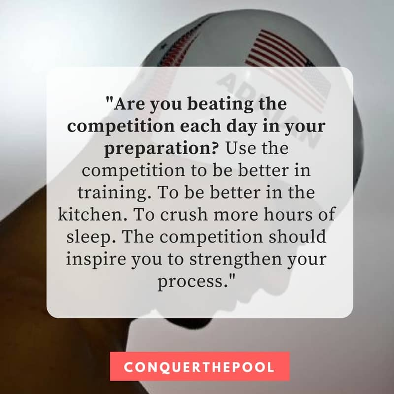 Are You Beating the Competition in Training?