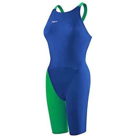 LZR Elite 2 RecordBreaker Kneeskin Blue Green