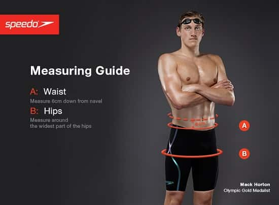 Speedo Male Tech Suit Sizing Chart