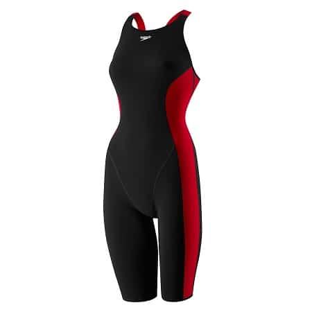 Speedo PowerPLUS Kneeskin Black-Red