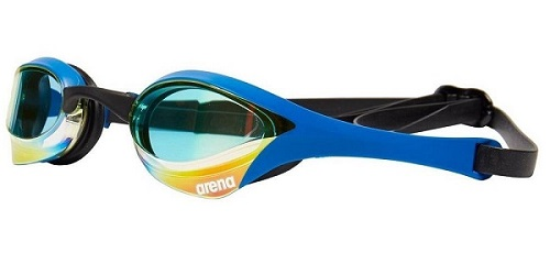 Arena Cobra Mirrored Ultra Swim Goggles Blue