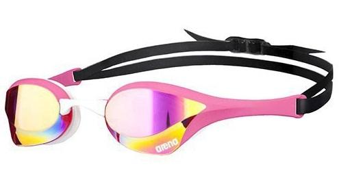 Arena Cobra Ultra Mirror Goggles Pink