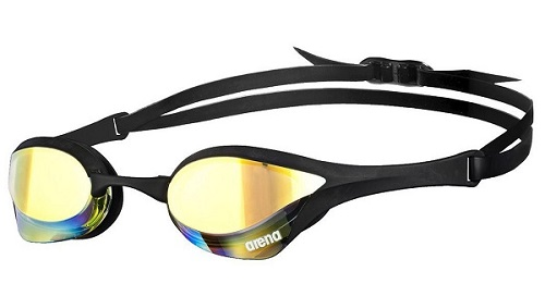 Arena Cobra Ultra Mirrored Goggles Black