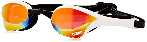 Arena Cobra Ultra Mirrored Goggles White