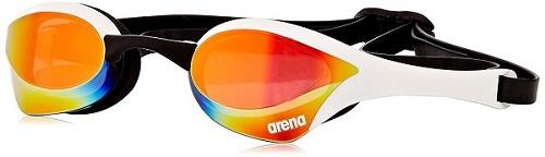 Arena Cobra Ultra Mirrored Goggles White