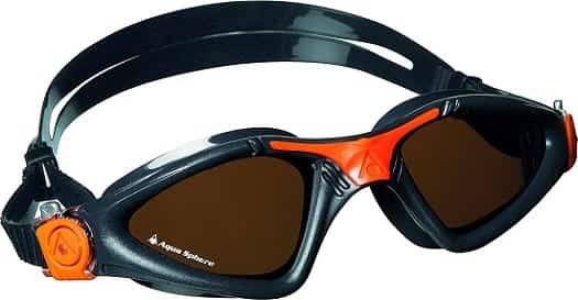 Aqua Sphere Black Orange Polarized