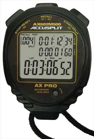 Accusplit 500 Memory Stopwatch for Swim Coaches