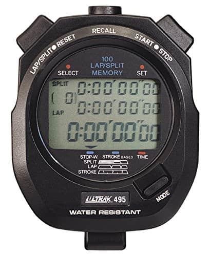 Best stopwatches for swim coaches Ultrak 495