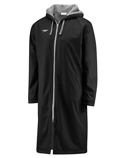 Speedo Team Swim Parka Black