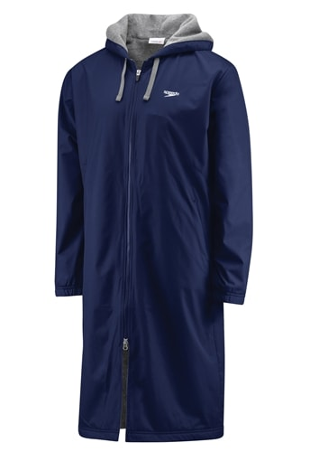 Speedo Team Swim Parka Navy