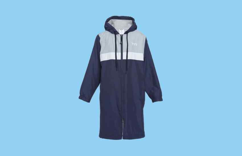 TYR Alliance Podium Youth Swimmer's Parka