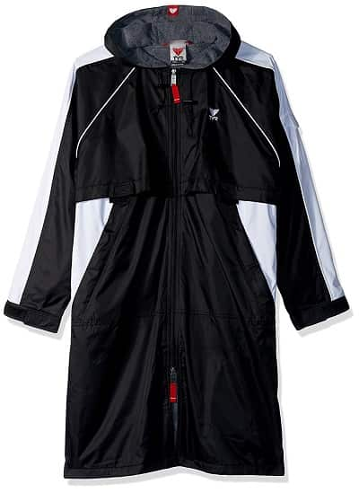 TYR Alliance Swim Parka Black