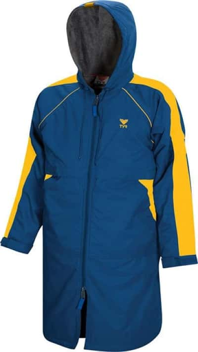 TYR Alliance Swimmers Parka Gold Royal