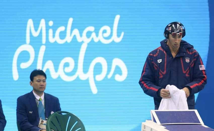 Michael Phelps Pre Race Routine