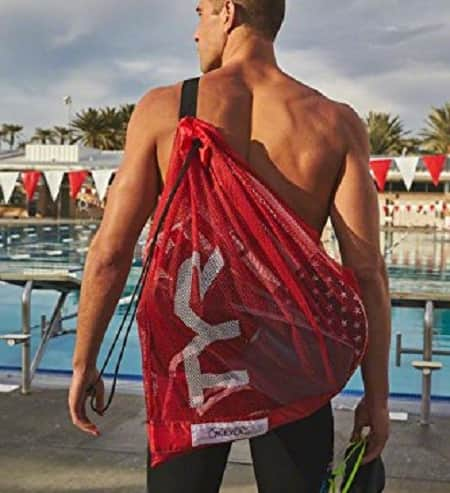 TYR Mesh Bag Matt Grevers