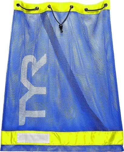 TYR Mesh Bag blue yellow