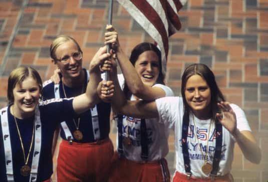 1976 US Women Free Relay Team