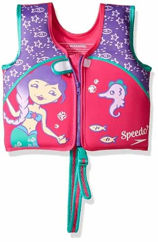 Speedo Learn to Swim Vest pink
