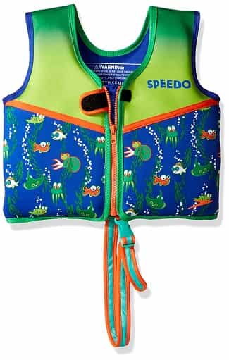 Speedo Learn to Swim Vest print